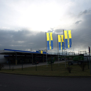 Metro Standort Markierung