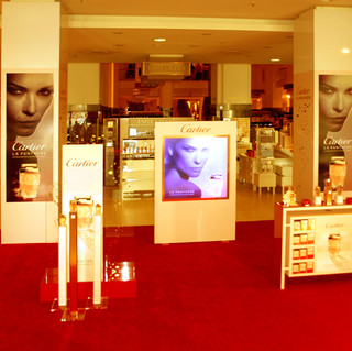 Cartier Aktionsfläche III Indoor