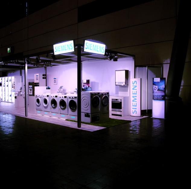 Siemens Maschinen Ausstellung