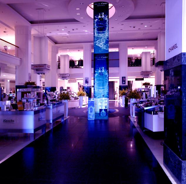 Cartier Aktionsfläche Indoor