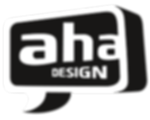 aha-Design Visual-Logo Dekoration, Messebau,