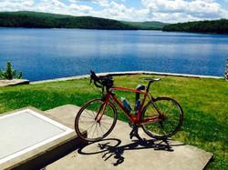 Lake Scranton on a beautiful day in NEPA!