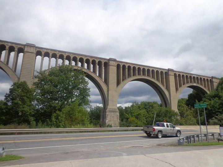 The Nicholson Bridge in Susquehanna county
