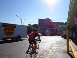 Departing Day 2 from Quinn's market in Pittston