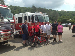 Honesdale Fire Department with a few others