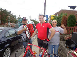 The Polka Jets and I outside State St