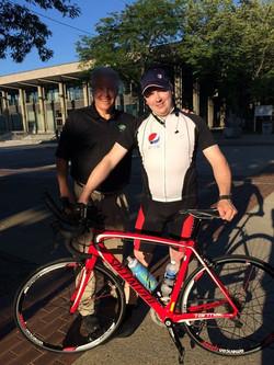Peter Kurecian and I in Bethlehem, PA