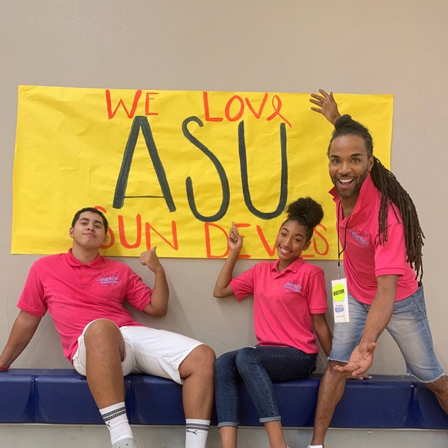 ASU day with the JEESQUAD!