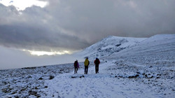 Some of Chloe's group, Lonscale Fell