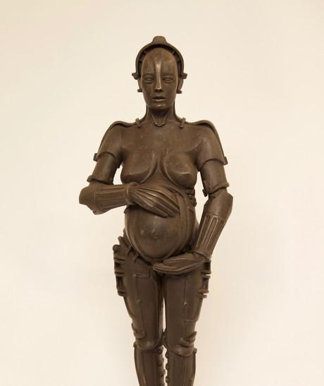 Pregnant Machine Human