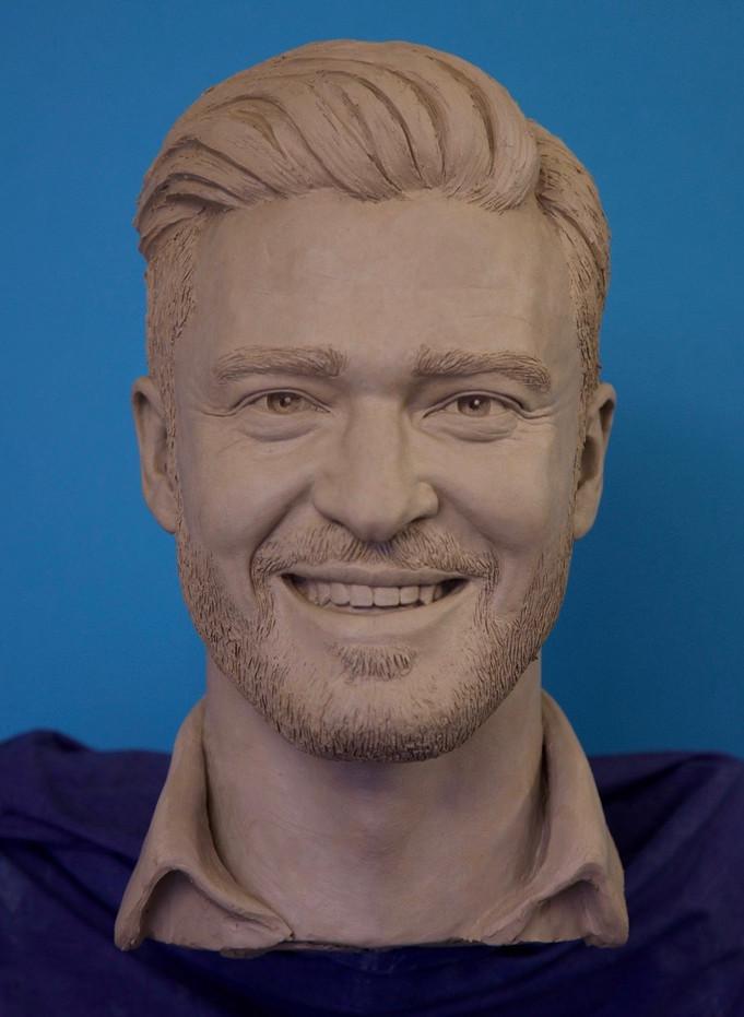 Justin Timberlake by Thomas J Ridley.