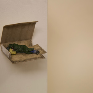 'Someone Sleeping Rough'by  TJR Wall mou