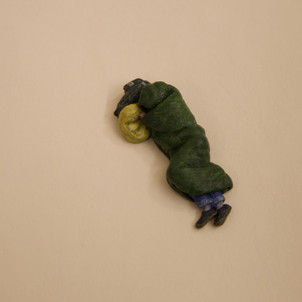 'Someone Sleeping Rough' by TJR, painted