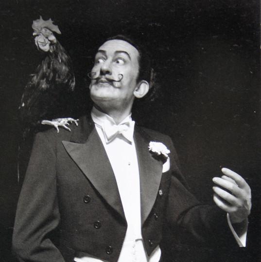 Salvador Dali for Madame Tussauds photograph by Sakamoto