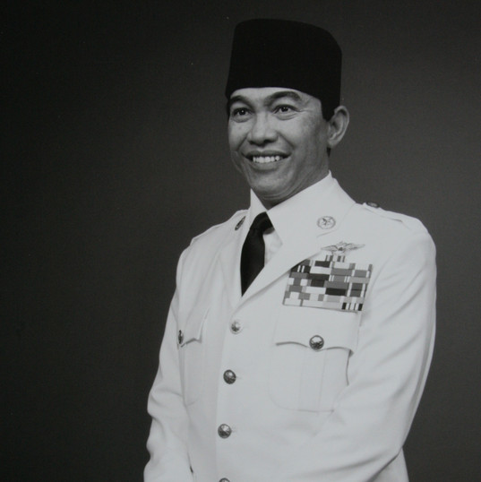 Sukarno for Madame Tussauds