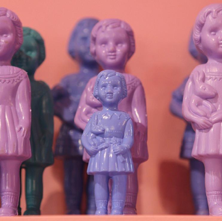 poupées du Ghana