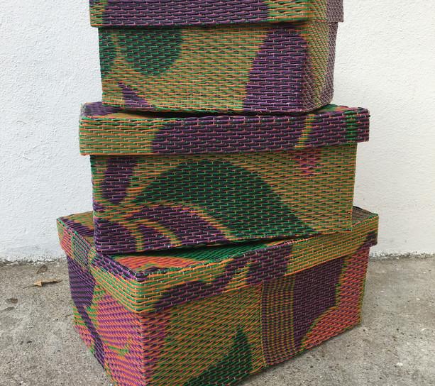 set de 3 boîtes gigognes