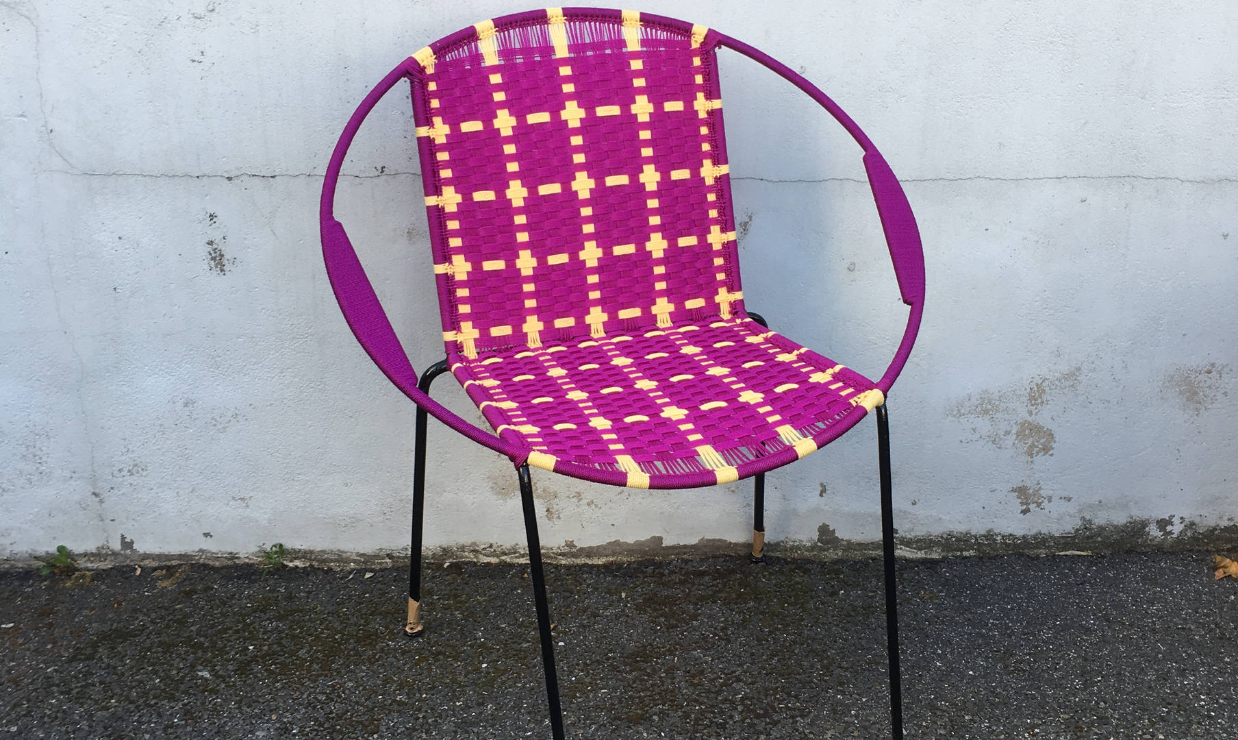 Chaise ronde