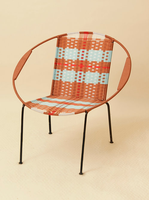 FAUTEUIL ADULTE - JEANNE ROUILLE / TURQUOISE / BLANC / ROUGE