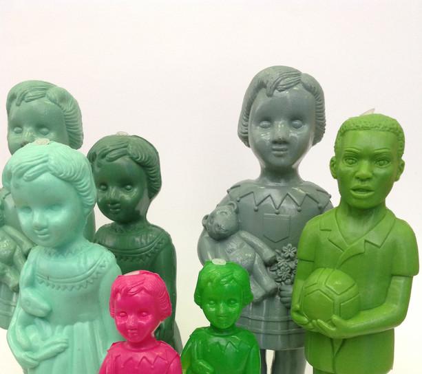 poupées et footballers
