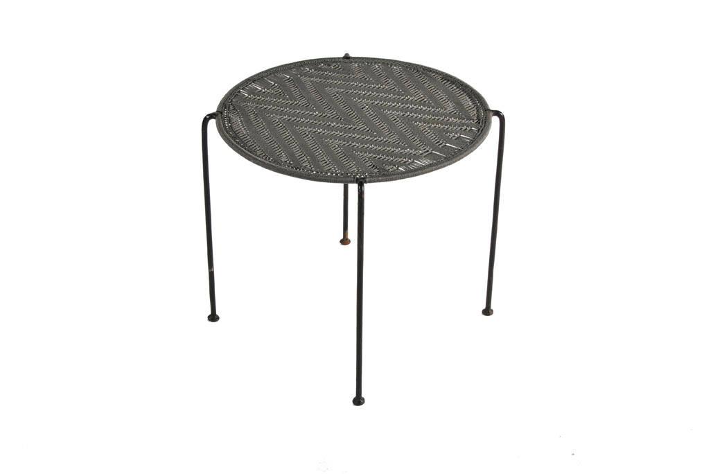 Table ronde haute