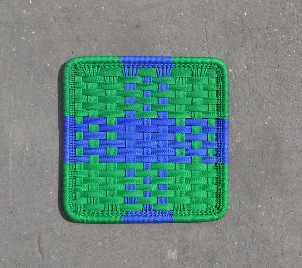 Vert / bleu