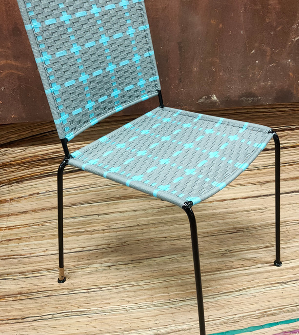 Gris clair /  turquoise
