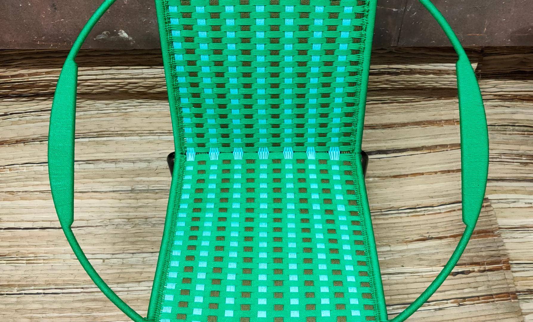 Vert / kaki clair / turquoise