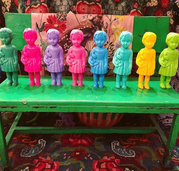 poupées M du Ghana