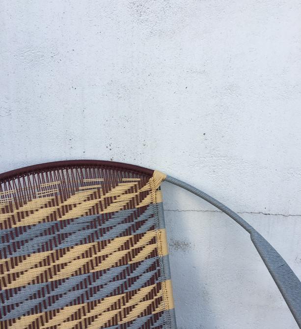 Gris clair / marron / beige