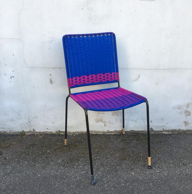 Bleu / aubergine / violet