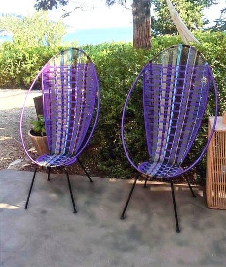 fauteuils oeuf