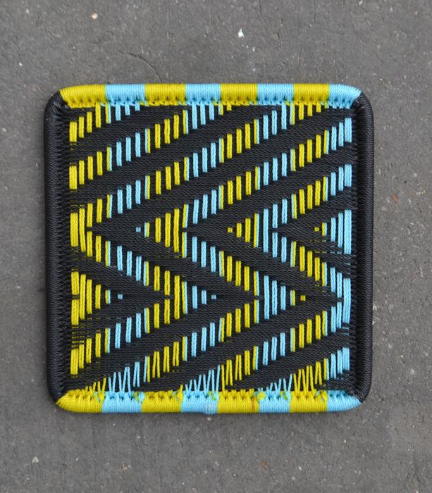 Noir / jaune / turquoise