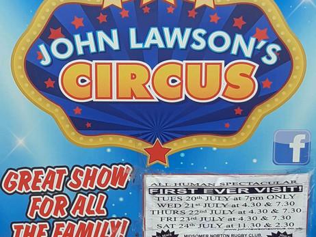The Circus Comes To Norton Down