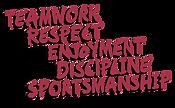 Teamwork Respect Enjoyment Discipline Sportsmanship