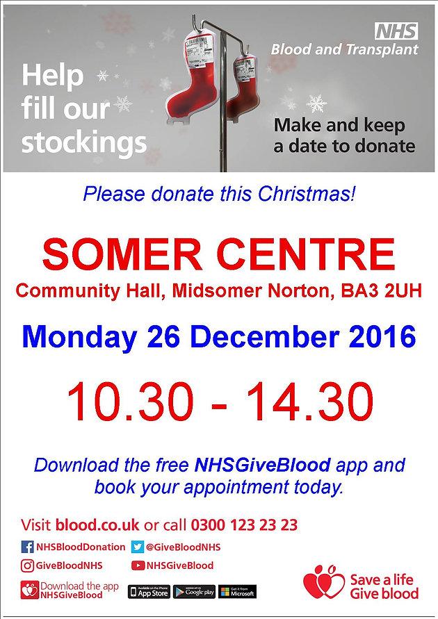 Christmas Blood Drive.Donate This Christmas