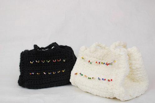 """""""Over The Rainbow"""" Crocheted Bag"""