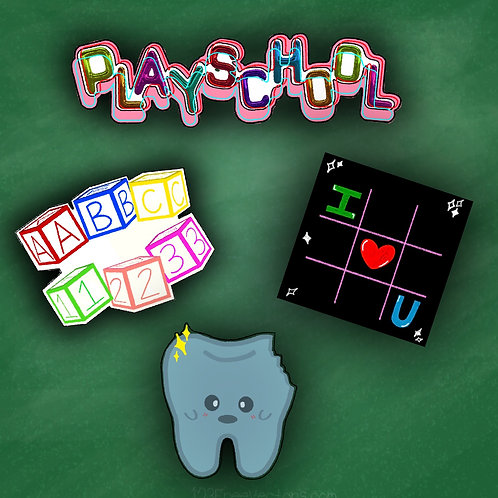 Playschool Sticker Pack