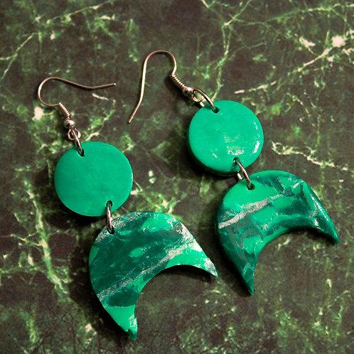 """""""Jade"""" Earrings"""