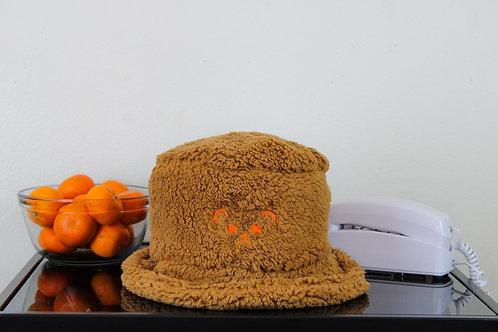 """My Sad Bear Friend"" Cozy Sherpa Bucket Hat"