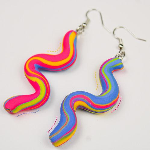 Warped Earrings