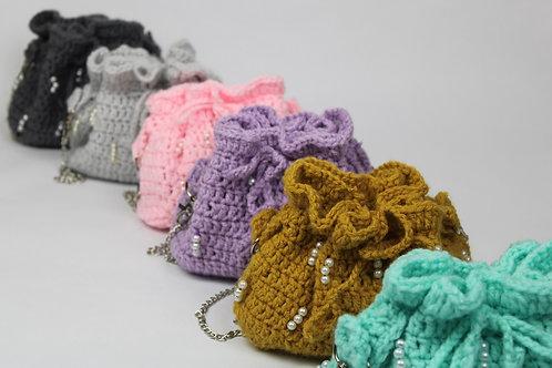 """""""Frances"""" Mini Bucket Bag"""
