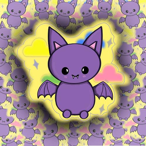 Miss Bat Sticker