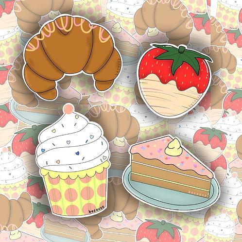 Sweet Treats Sticker Pack