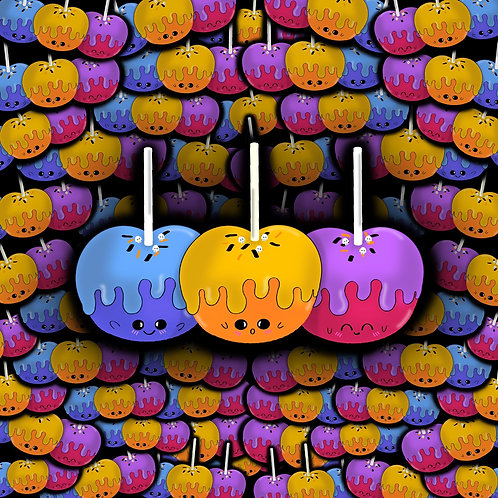 Poisoned Candy Apples Sticker