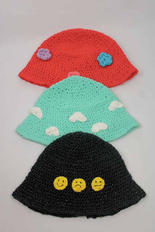 The Specialty Crochet Bucket Hats