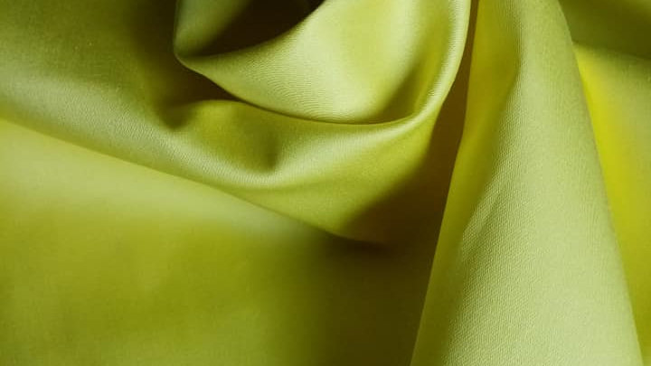 Yellow Cotton Stretch