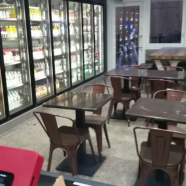 New eating area