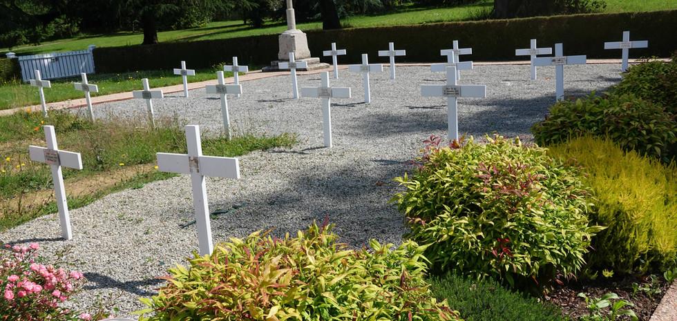Le cimetière où reposent les soeurs