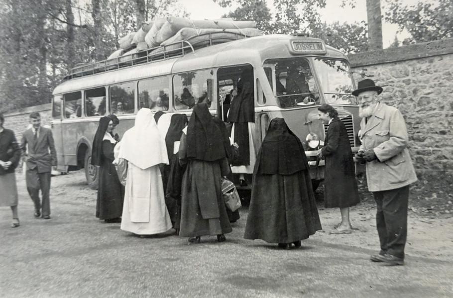 Arrivée des soeurs à Campénéac en 1953